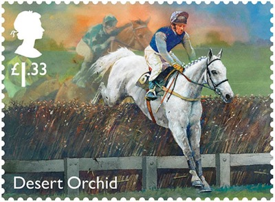 Desert Orchid Commemorative Stamp