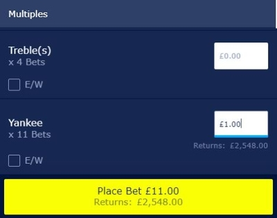 Full Cover Bets