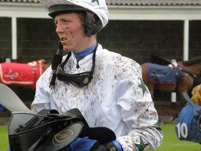 Mud Splattered Jockey