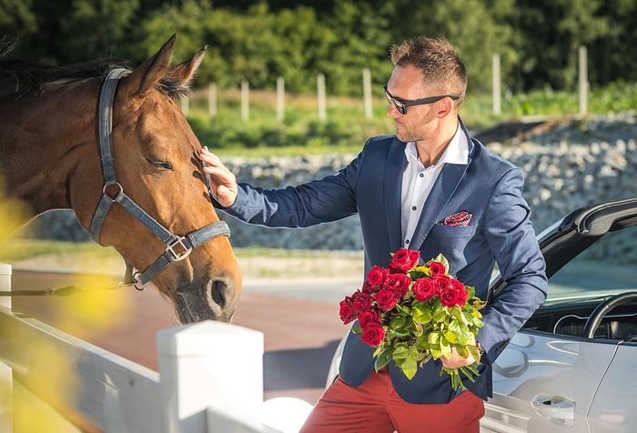 Wealthy Horse Owner