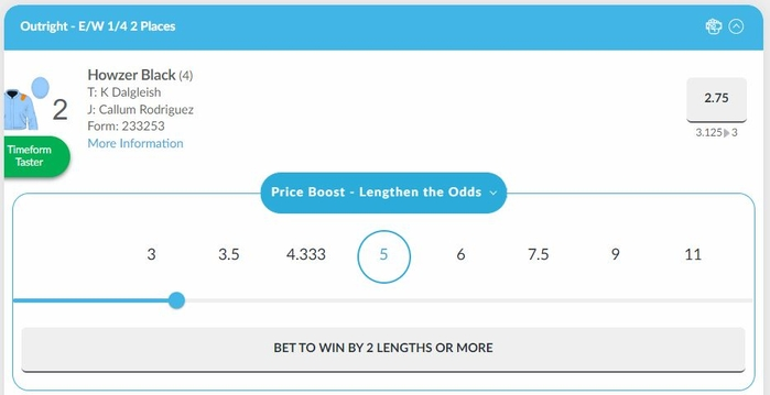 Lengthen the Odds BetVictor
